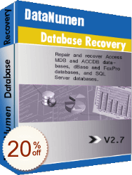 DataNumen Database Recovery Discount Coupon