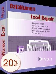DataNumen Excel Repair Discount Coupon