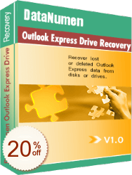 DataNumen Outlook Express Drive Recovery Discount Coupon