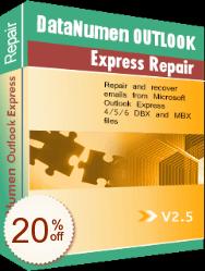 DataNumen Outlook Express Repair Discount Coupon