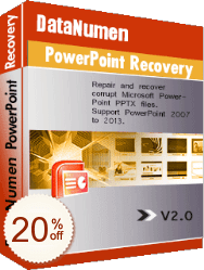 DataNumen PowerPoint Recovery Discount Coupon