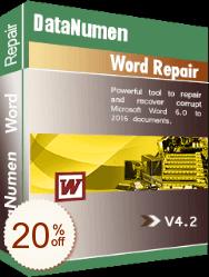 DataNumen Word Repair Discount Coupon