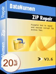 DataNumen Zip Repair Discount Coupon