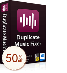 Duplicate Music Fixer Discount Coupon