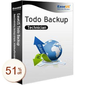 EaseUS Todo Backup Technician Discount Coupon