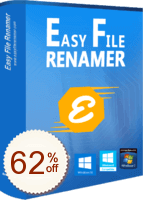 Easy File Renamer Discount Coupon