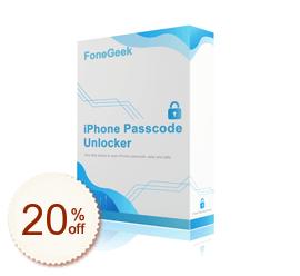 FoneGeek iPhone Passcode Unlocker Discount Coupon