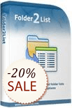 Folder2List Discount Coupon