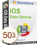 iSunshare iOS Data Genius Discount Coupon