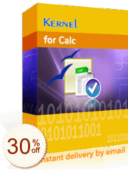 Kernel for Calc Recovery Discount Coupon