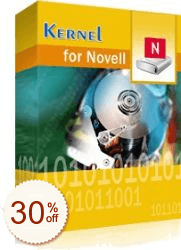 Kernel for Novell Data Recovery Discount Coupon