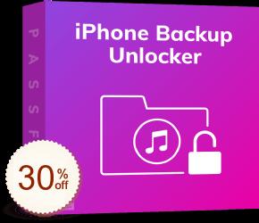 PassFab iPhone Backup Unlocker Discount Coupon