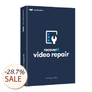 Recoverit Video Repair Discount Coupon