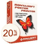 RonyaSoft Poster Printer Discount Coupon