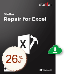 Stellar Repair for Excel Discount Coupon