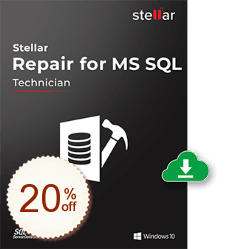 Stellar Repair for MS SQL Discount Coupon