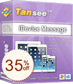 Tansee iOS Message Transfer Discount Coupon