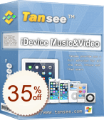 Tansee iOS Music&Video Transfer Discount Coupon
