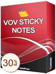 Vov Sticky Notes Discount Coupon