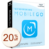 Wondershare MobileGo Discount Coupon