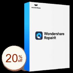 Wondershare Repairit Discount Coupon