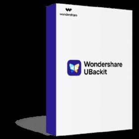 Wondershare UBackit Shopping & Trial