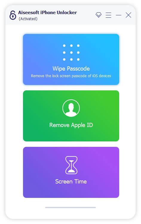 Aiseesoft iPhone Unlocker Screenshot