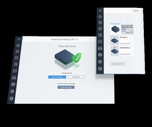 Ashampoo Backup Pro Screenshot