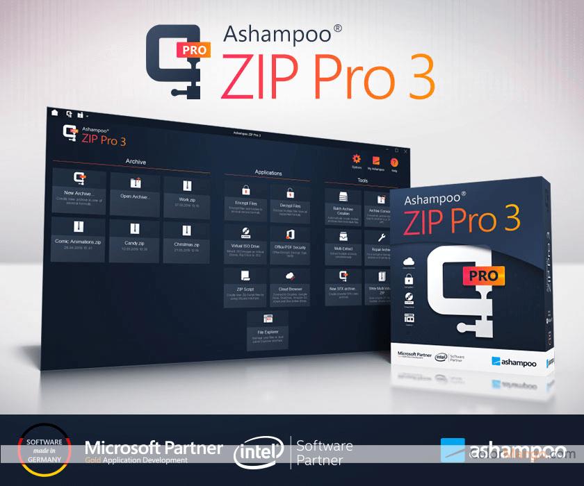 Ashampoo ZIP Pro Screenshot