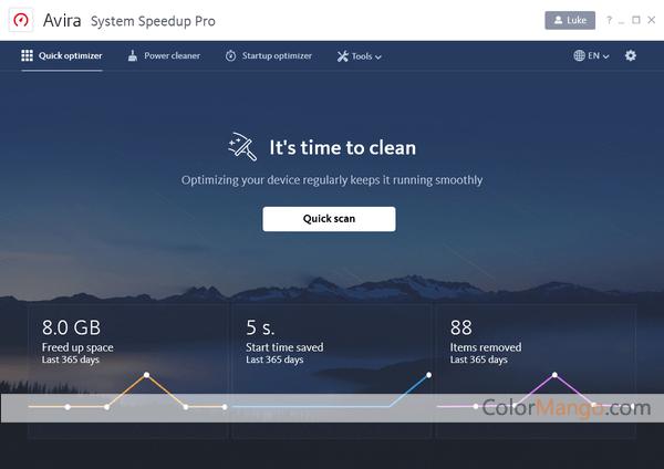 Avira System Speedup Pro Screenshot