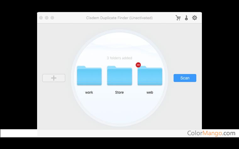 Cisdem Duplicate Finder for Mac Screenshot