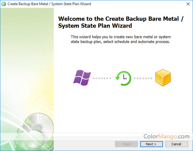 MSP360 Backup for Windows Server Screenshot