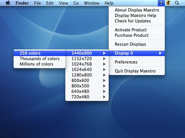 Display Maestro Screenshot