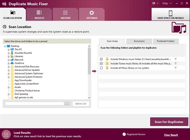 Duplicate Music Fixer Screenshot