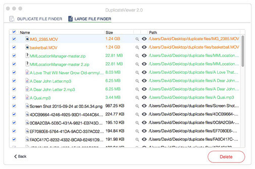 DuplicateViewer for Mac Screenshot
