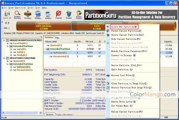 eassos partitionguru pro download
