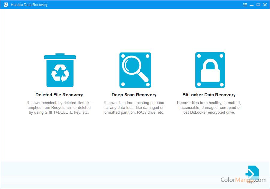 Hasleo Data Recovery Screenshot