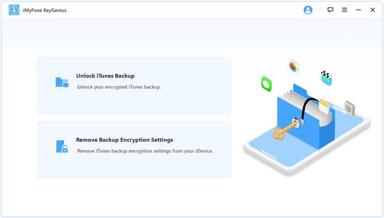 iMyFone KeyGenius Screenshot