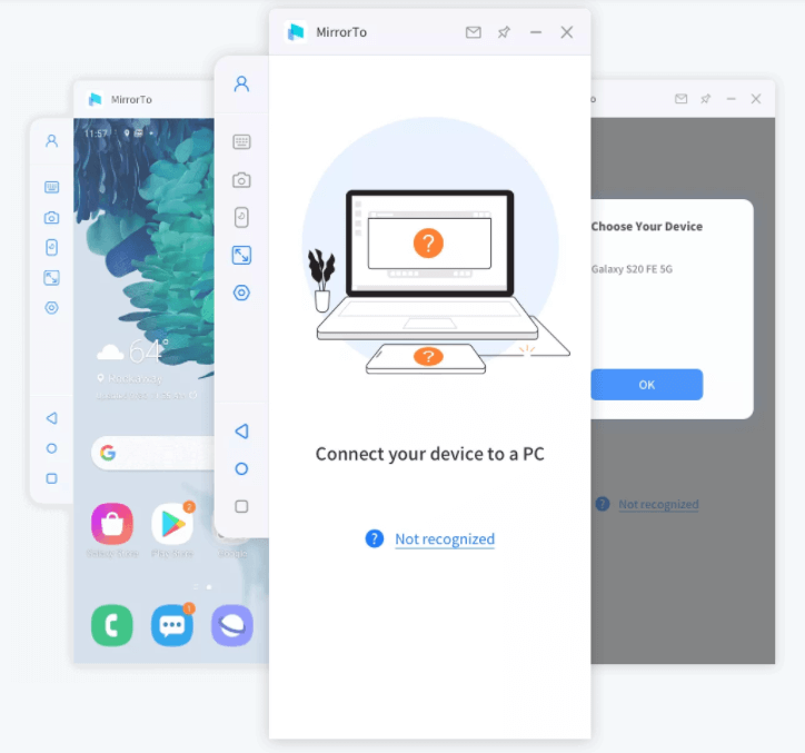 iMyFone MirrorTo Screenshot