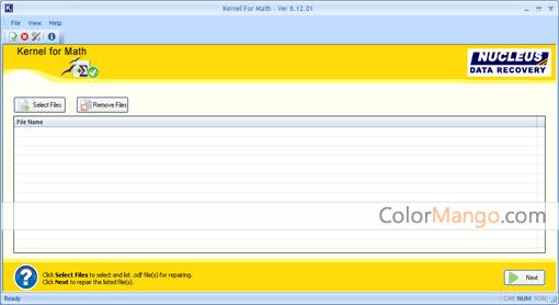 Kernel for Math Screenshot