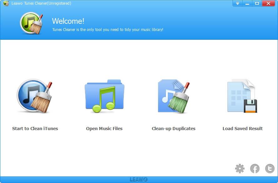 Leawo Tunes Cleaner Screenshot