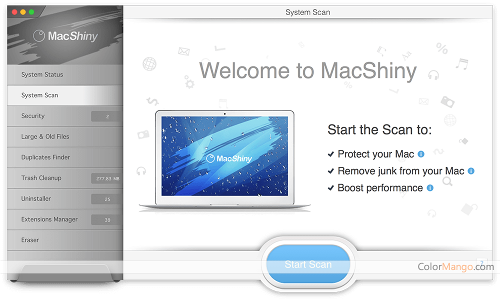 MacShiny for Mac Screenshot