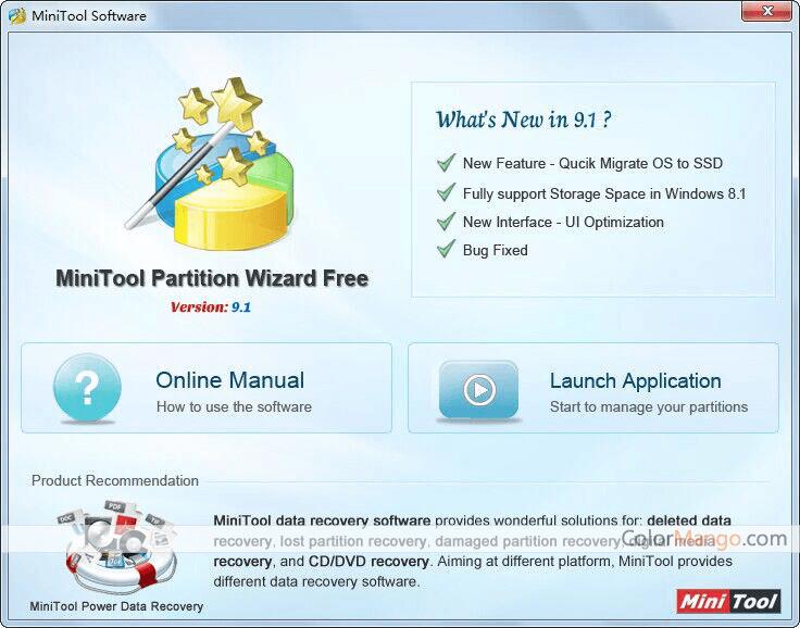 MiniTool Partition Wizard Free Screenshot