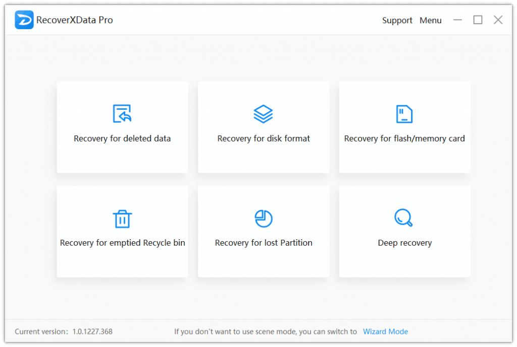RecoverXData Screenshot
