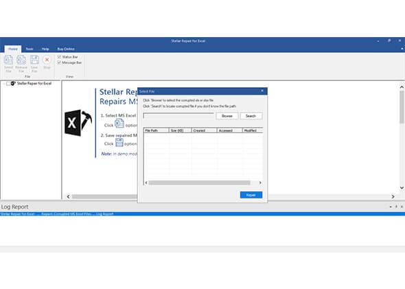 ステラフェニックス Excel リペアー Screenshot