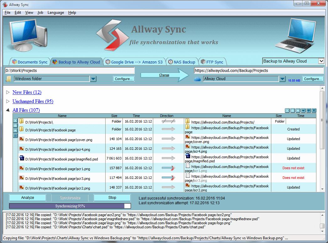 Sync Gateway Screenshot