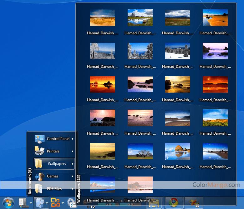 True Launch Bar Screenshot