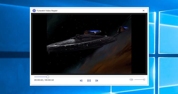 TunesKit Video Repair Screenshot