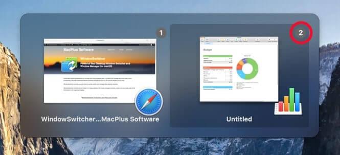 WindowSwitcher Screenshot